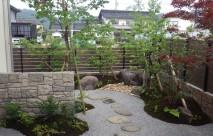 モルタル造形 石垣